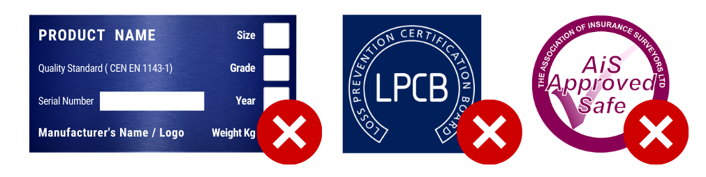 unaccredited certification marks